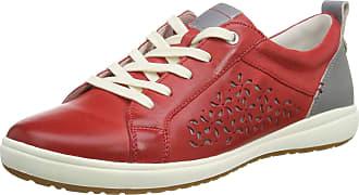 Josef Seibel Womens Caren 06 Low-Top Sneakers, Red (Rot-Kombi 134 401), 7 UK