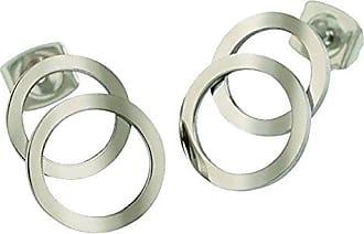 54e4f6f112a0 Boccia Pendientes de botón Mujer titanio - 05026-01