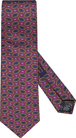 Altea Übergröße : Altea, Krawatte mit modischem Muster in Magenta für Herren