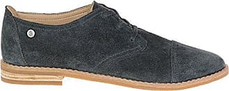 Hush Puppies Womens Aiden Clever Oxford, Granite Grey, 9 M US