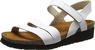 Naot Footwear Womens Kayla Sandal White Leather 43 M EU