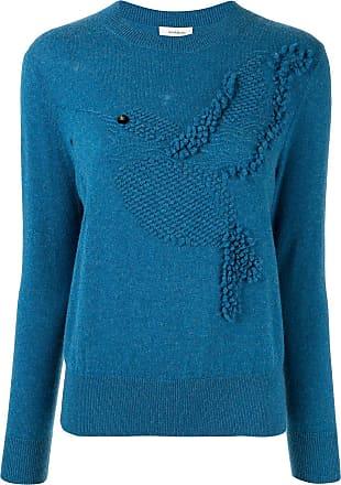 Onefifteen textured knit jumper - Blue