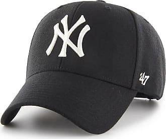 47 Brand Unisex New York Yankees MVP Cap B-mvps Visor Not Applicable, Black (Black B-Mvpsp17wbp-Bk), One Size