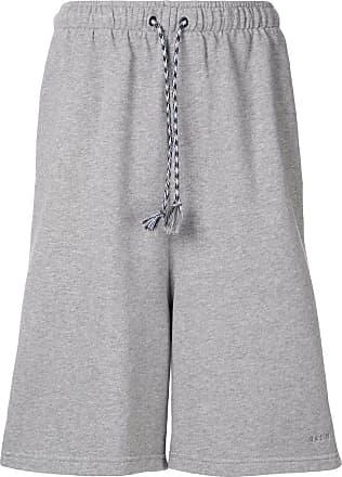 Qasimi drawstring jersey shorts - Grey