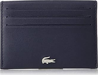 Lacoste Mens Fg Credit Card Holder, Peacoat, One Size