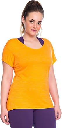 Marcyn Camiseta Plus Baby Look Laranja, 553.822P Laranja, Eg