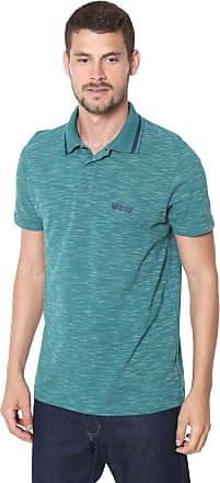 9ed0d9fa3e Mr Kitsch Camisa Polo Mr Kitsch Reta Padronagem Verde