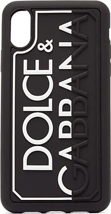 Dolce & Gabbana Embossed-logo Rubber Iphone Xr Case - Mens - Black