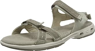 Columbia Womens KYRA VENT II Hiking Sandals, Brown (Silver Sage/Pebble), 10 UK