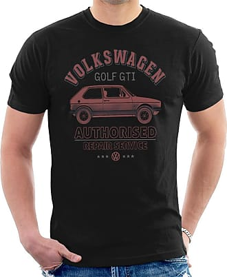Volkswagen Red Golf GTI Repairs Mens T-Shirt