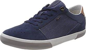671c0b7f46 Geox U Box A, Scarpe da Ginnastica Basse Uomo, Blu (Blue),