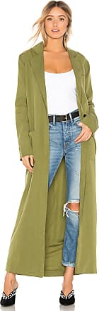 House Of Harlow x REVOLVE Cheryl Maxi Coat in Olive