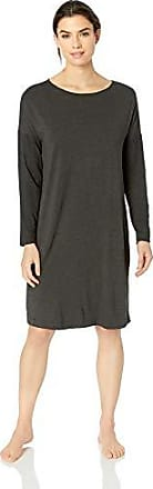 HANRO Womens Fleur Long Sleeve Gown