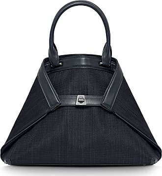 MQaccessories Small handbag in horsehair fabric