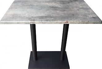 Mathi Design OAKLAND - Table repas grise