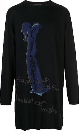 Yohji Yamamoto oversized knitted jumper - Black