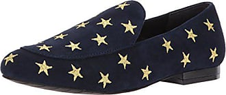 Kenneth Cole Womens Westley Slip on Loafer Flat, Navy, 9.5