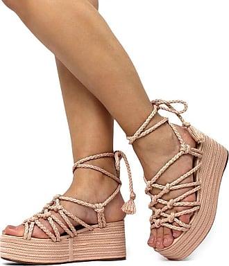 Damannu Shoes Sandália Brooke - Cor: Acerola - Tamanho: 38
