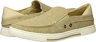 Kenneth Cole Reaction Ankir Boat (Sand Canvas) Mens Slip on Shoes
