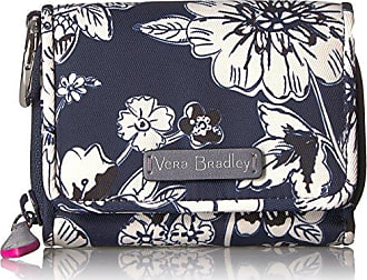 Vera Bradley Womens Midtown Rfid Card Case, midnight floral, One Size