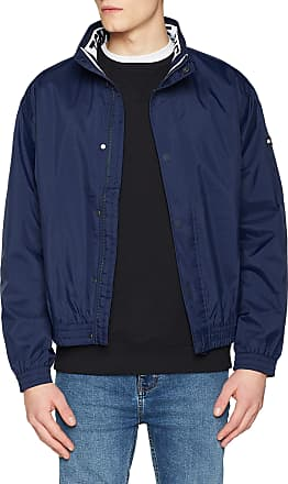 Tommy Jeans Mens TJM Mesh Trainer Jacket, Blau (Black Iris 002), Small