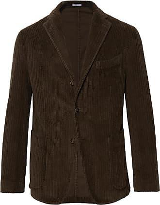 f1db09bf2d6846 Boglioli Dark-green Slim-fit K-jacket Cotton-corduroy Blazer - Dark