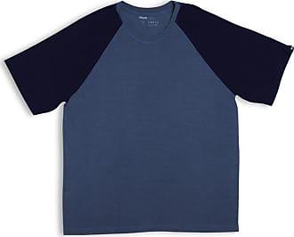 Mash CAMISETA MODAL MANGA CURTA Azul jeans P