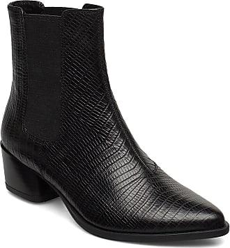 Vagabond Lara Shoes Boots Ankle Boots Ankle Boots With Heel Svart VAGABOND