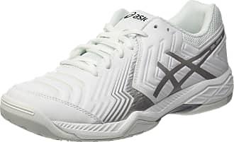2384d9241b Asics Menss Gel-Game 6 Tennis Shoes White Silver 0193