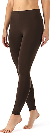 Merry Style Womens Leggings Long MS10-143 (Brown, 3XL)