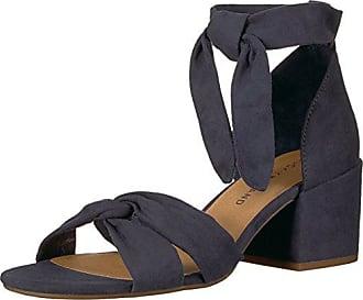 Lucky Brand Womens Xaylah Heeled Sandal, Moroccan Blue, 9 Medium US