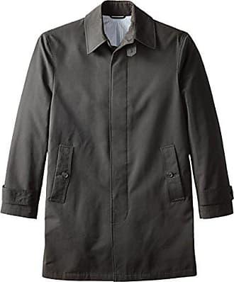 Stacy Adams Stacy Adams Cloud Fly Front 36 Inch Length Rain Top Coat, Black, 1x48 Regular