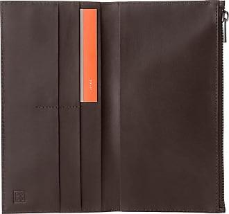 f2c726838c9 DuDu Grand portefeuille vertical Bifold pour homme en cuir véritable avec  fermeture éclair extérieure, porte