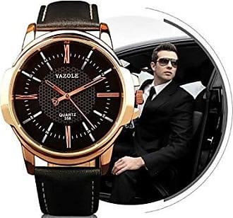Yazole Relógio Masculino Yazole 358 Pulseira Preta