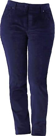 Regatta Womens/Ladies Darika Long Length Trousers (UK Size 10) (Navy)