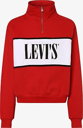Levi's Damen Sweatshirt rot