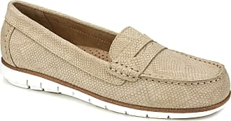 White Mountain Womens Brianna Penny Loafer, Sand, 6.5 UK