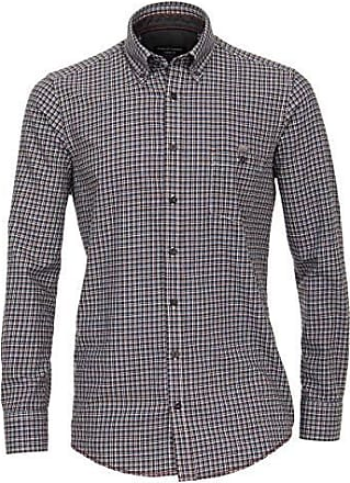 Herren Hemd Slim Fit Langarm Shirt Kariert, Farben:Türkis, Größe Hemd:XXL