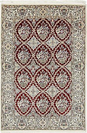 Nain Trading 176x119 Tappeto Nain 6La Grigio Scuro/Marrone Scuro (Lana / Seta, Persia/Iran, Annodato a mano)