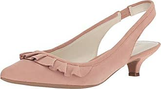 Anne Klein Womens ELANORE Pump, Light Pink Suede, 9.5 M US