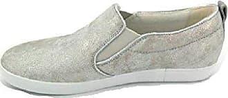 Gabor Damenschuhe  sehr komfortable Damen Sneakers Gloss Silber (37) dca9262ecc