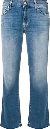 7 For All Mankind cropped bootcut jeans - Blue