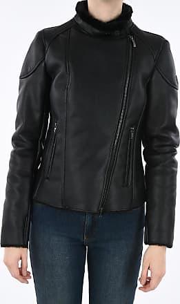 Armani JEANS Faux Leather Jacket Größe 40