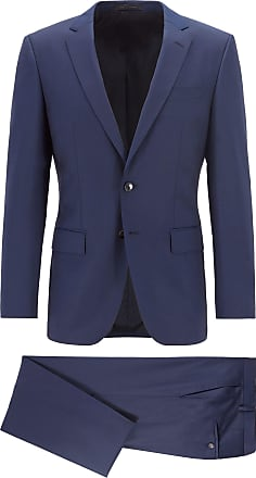 574f3cea1a28 BOSS Slim-fit suit in virgin wool with natural stretch