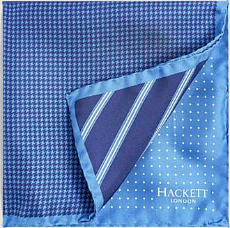 Hackett Quad Pattern Pocket Square | Green | Silk