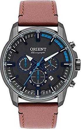 Orient Relógio Orient Masculino Ref: Myscc006 G1mx Cronógrafo Fumê
