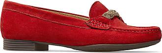 Van Dal Womens Beech Loafers (Poppy Red, 6.5)
