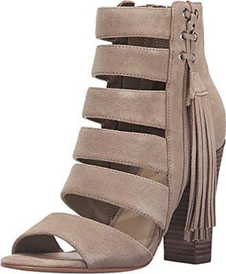 Guess Womens Blasa Dress Sandal, Beige, 8 M US