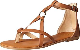 xoxo Womens Fulton Sandal, Tan, 7.5 M US
