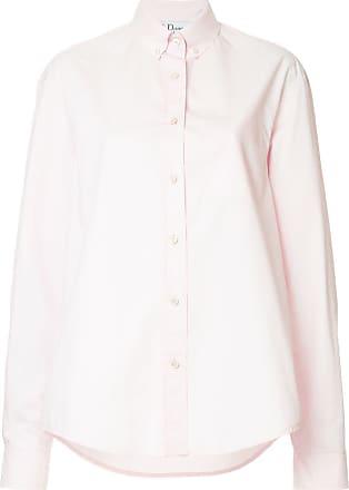 We11done Camisa oversized com botões - Rosa